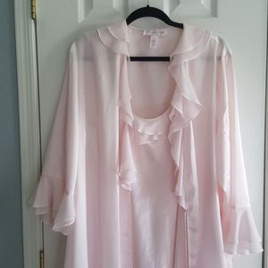 Women's night gown and robe